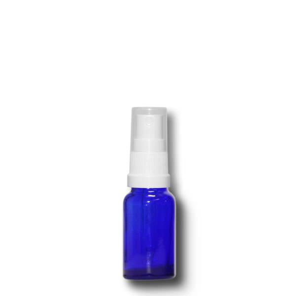 Sprühfläschchen 10 ml blau