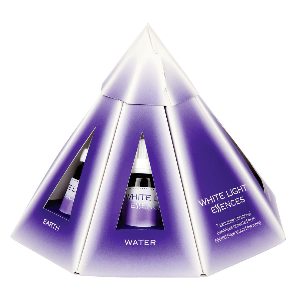 Pyramiden Set White Light Essences
