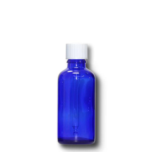 Tropffläschchen 50 ml blau