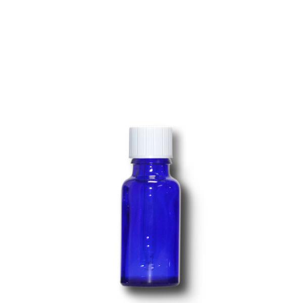 Tropffläschchen 20 ml blau