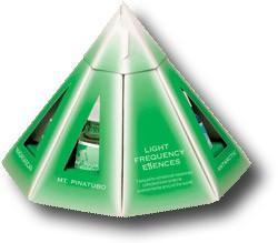 Pyramiden Set Lichtfrequenz Essenzen