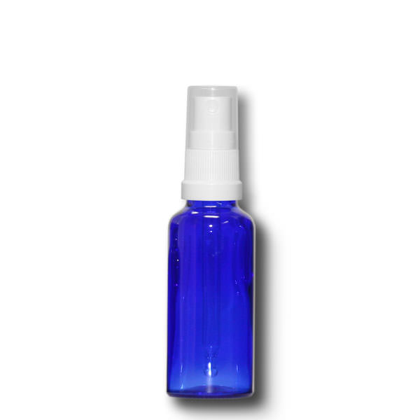 Sprühfläschchen 30 ml blau