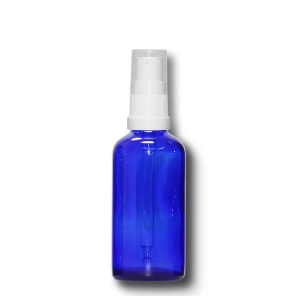 Sprühfläschchen 50 ml blau