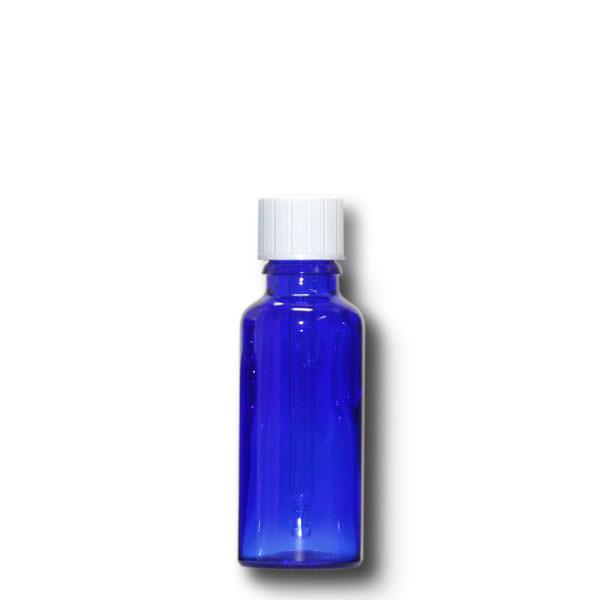 Tropffläschchen 30 ml blau
