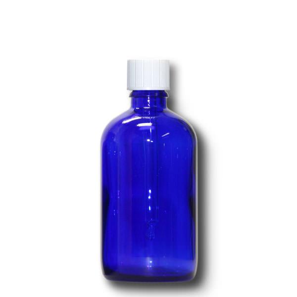 Tropffläschchen 100 ml blau